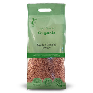 Just Natural Organic Golden Linseed 500g