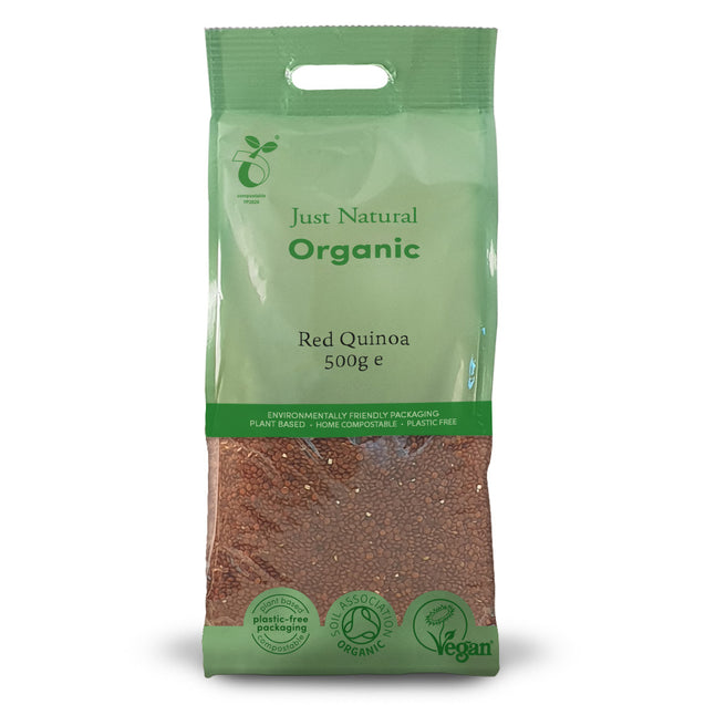 Just Natural Organic Red Quinoa 500g