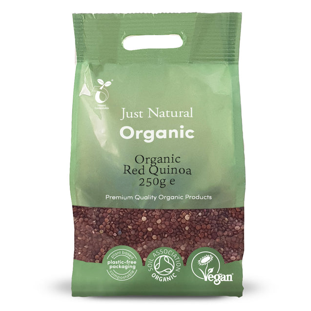 Just Natural Organic Red Quinoa 250g