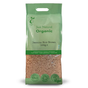 Just Natural Organic Brown Jasmine Rice 500g