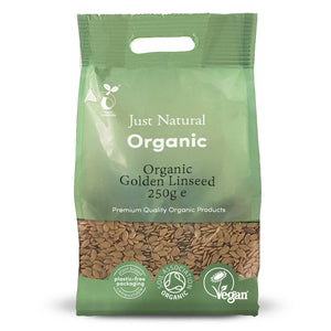 Just Natural Organic Golden Linseed 250g