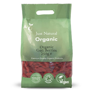 Just Natural Organic Goji Berries 250g