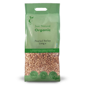 Just Natural Organic Barley Pearled 500g