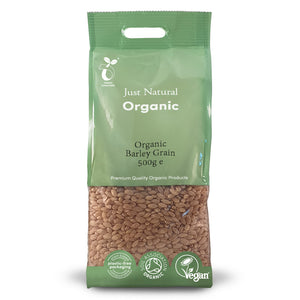 Just Natural Organic Barley Grain 500g