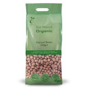 Just Natural Organic Haricot Beans 500g
