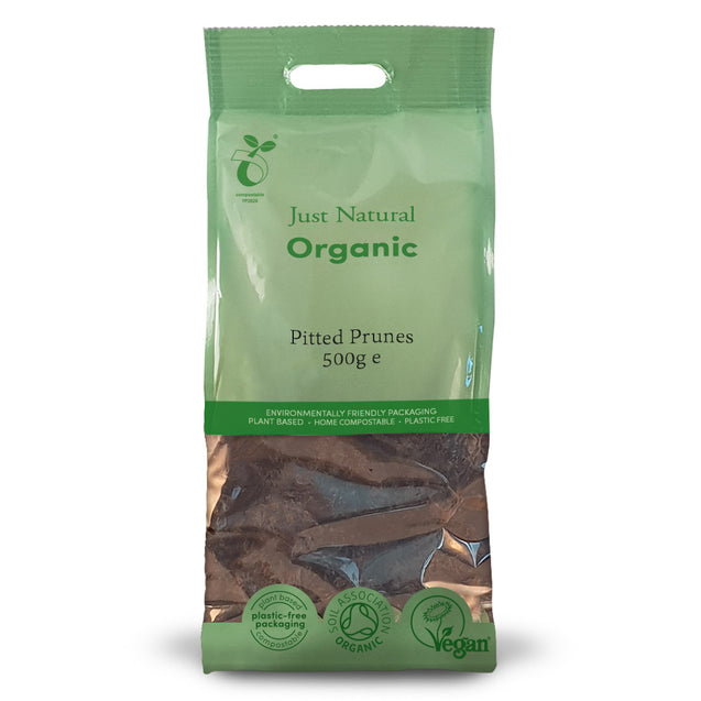 Just Natural Organic Pitted Prunes 500g