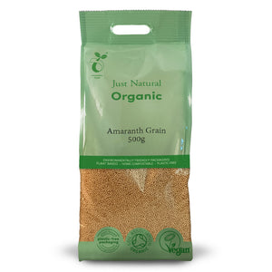 Just Natural Organic Amaranth Grain 500g
