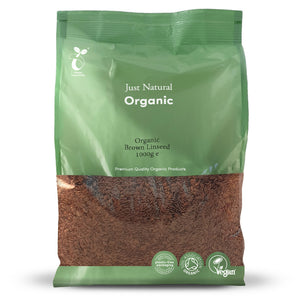 Just Natural Organic Brown Linseed 1000g