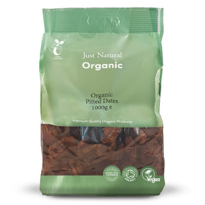 Just Natural Organic Pitted Dates 1000g