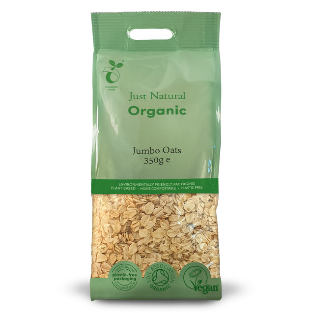 Just Natural Organic Jumbo Oats 350g