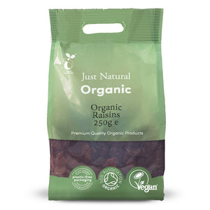 Just Natural Organic Raisins 250g