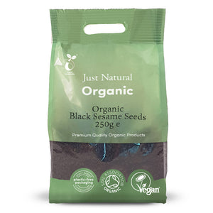 Just Natural Organic Black Sesame Seeds