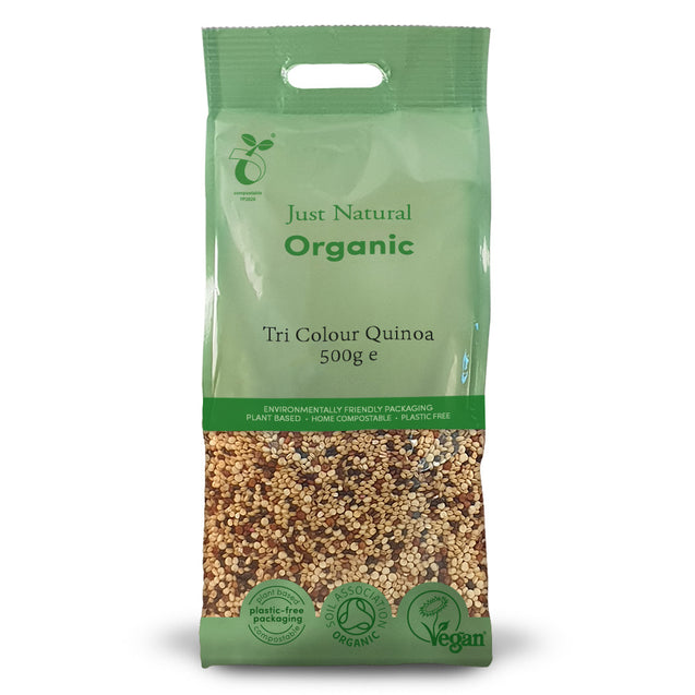 Just Natural Organic Tri Colour Quinoa 500g