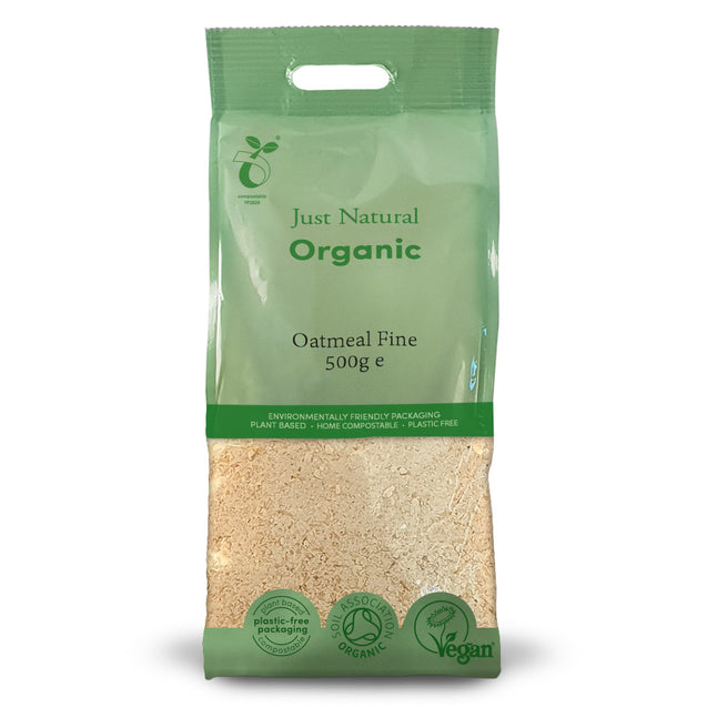 Just Natural Organic Oatmeal Fine 500g