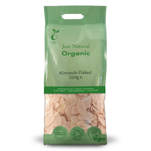 Just Natural Organic Almonds Flaked 250g