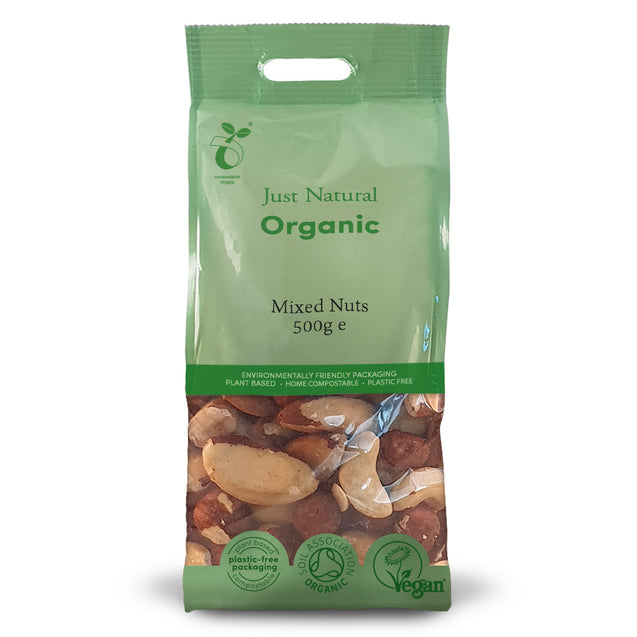Just Natural Organic Mixed Nuts 500g