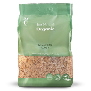 Just Natural Organic Muesli Base 500g