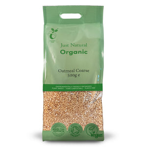 Just Natural Organic Oatmeal Coarse 500g
