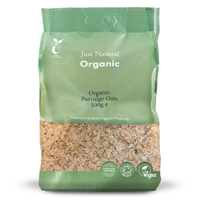 Just Natural Organic Porridge Oats 500g