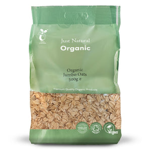 Just Natural Organic Jumbo Oats 500g