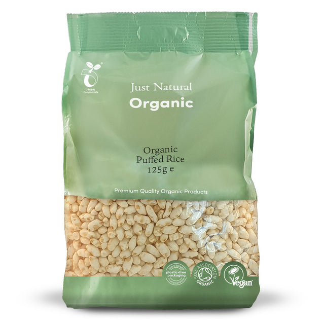Just Natural Organic Puffed Rice 125g