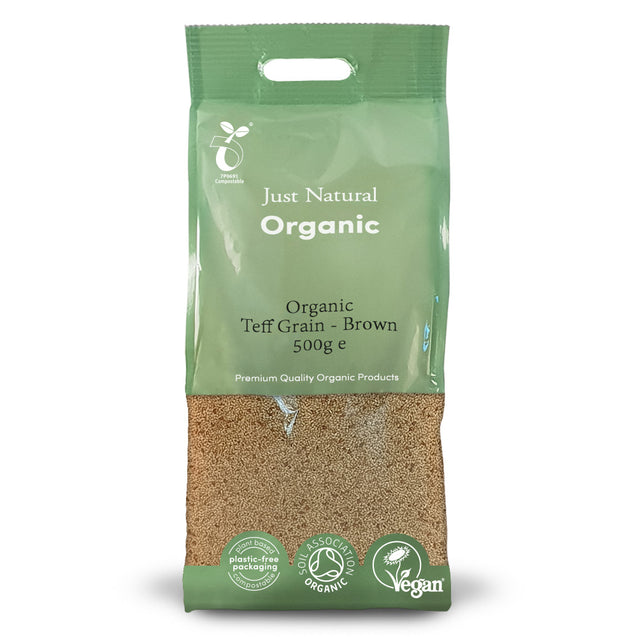 Just Natural Organic Teff Grain - White 500g