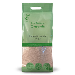 Just Natural Organic Almonds Ground 350g