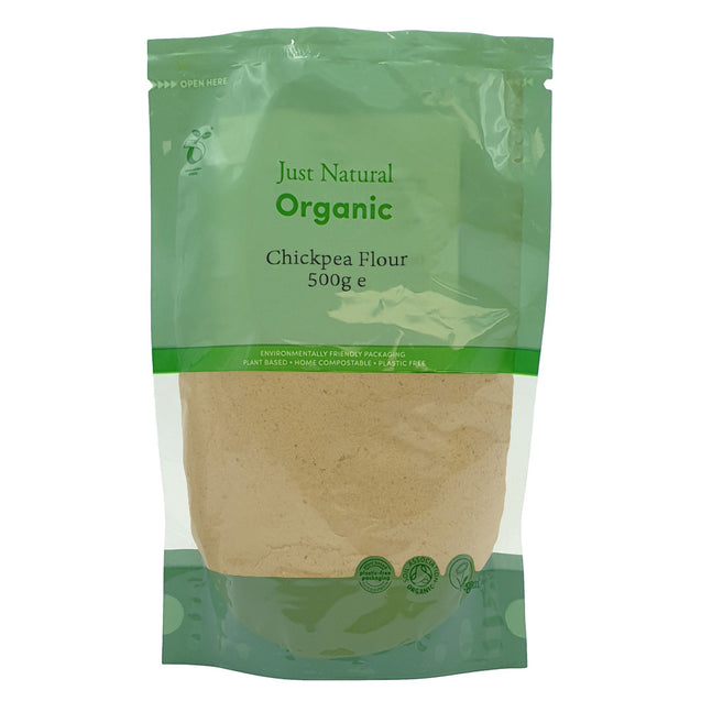 Just Natural Organic Chickpea Flour 500g