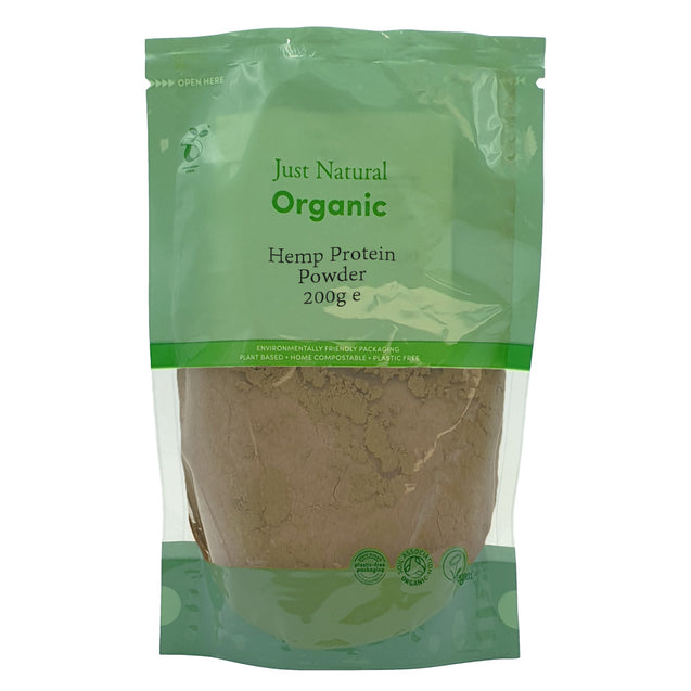 Just Natural Organic Hemp Protein Powder 200g