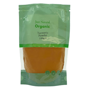 Just Natural Organic Turmeric Powder 100g