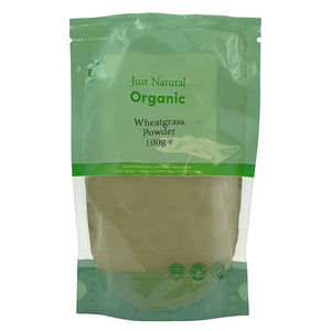 Just Natural Organic Wheatgrass Powder 100g