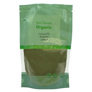 Just Natural Organic Chlorella Powder 100g