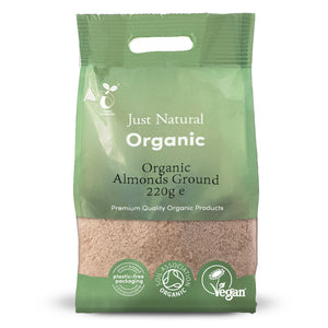 Just Natural Organic Almonds Ground 220g