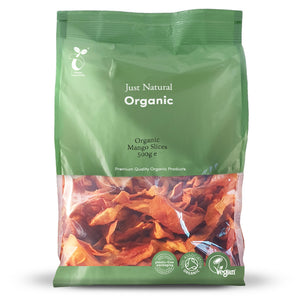 Just Natural Organic Mango Slices 500g