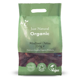 Just Natural Organic Medjool Dates 250g
