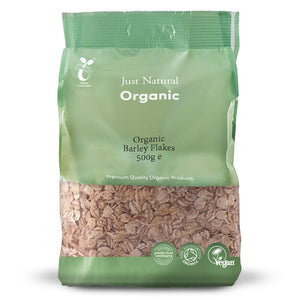 Just Natural Organic Barley Flakes 500g
