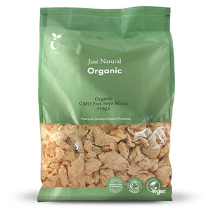 Just Natural Organic GMO Free Soya Mince 350g