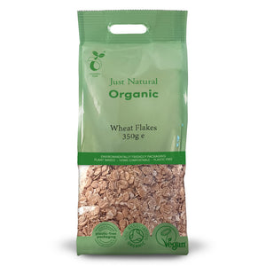 Just Natural Organic Wheat Flakes 350g