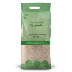 Just Natural Organic Coconut Dessicated 250g