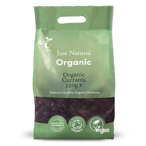 Just Natural Organic Currants 250g