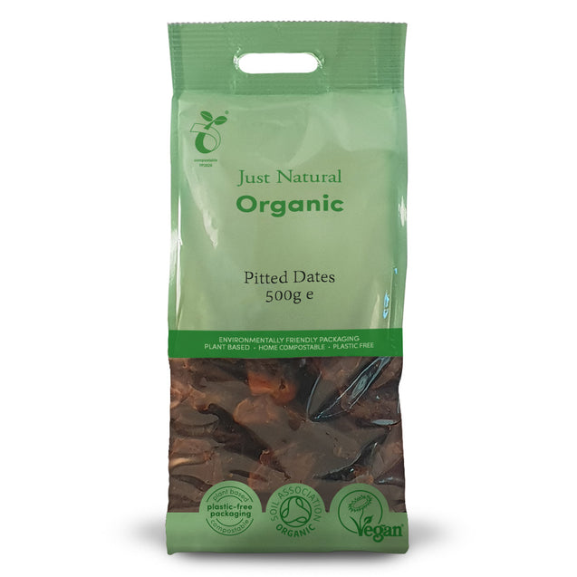 Just Natural Organic Pitted Dates 500g