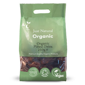 Just Natural Organic Pitted Dates 250g