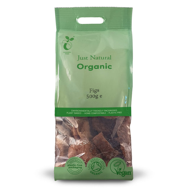 Just Natural Organic Figs 500g