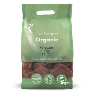 Just Natural Organic Figs 250g