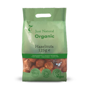 Just Natural Organic Hazelnuts 125g