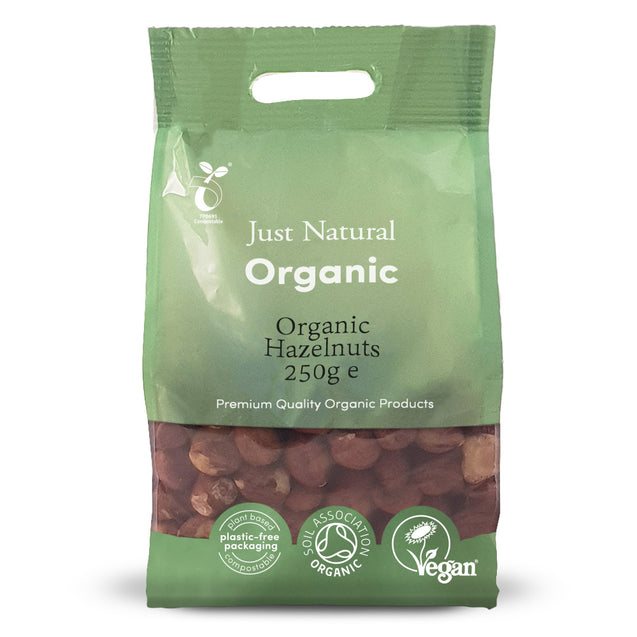 Just Natural Organic Hazelnuts 250g
