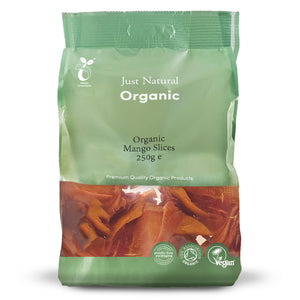 Just Natural Organic Mango Slices 250g