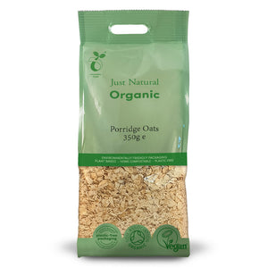 Just Natural Organic Porridge Oats (Regular) 350g