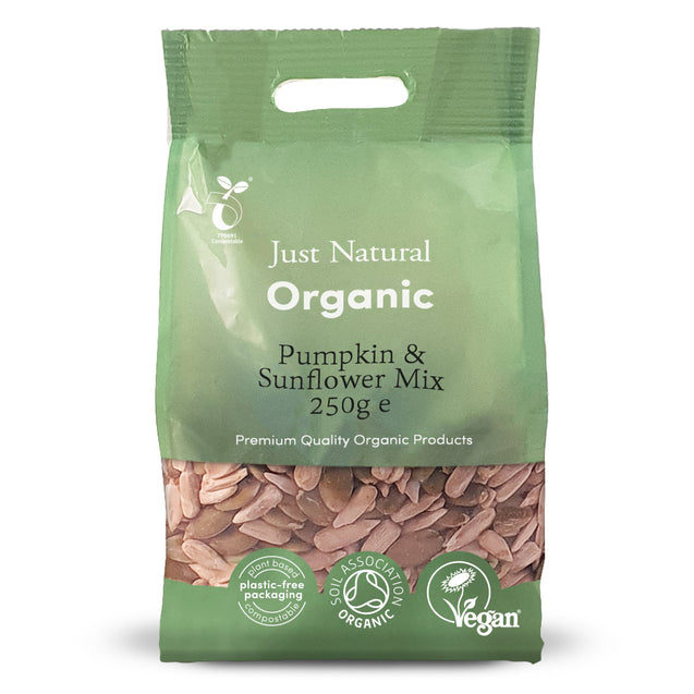 Just Natural Organic Pumpkin & Sunflower Mix 250g