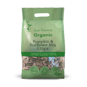 Just Natural Organic Pumpkin and Sunflower Mix 125g